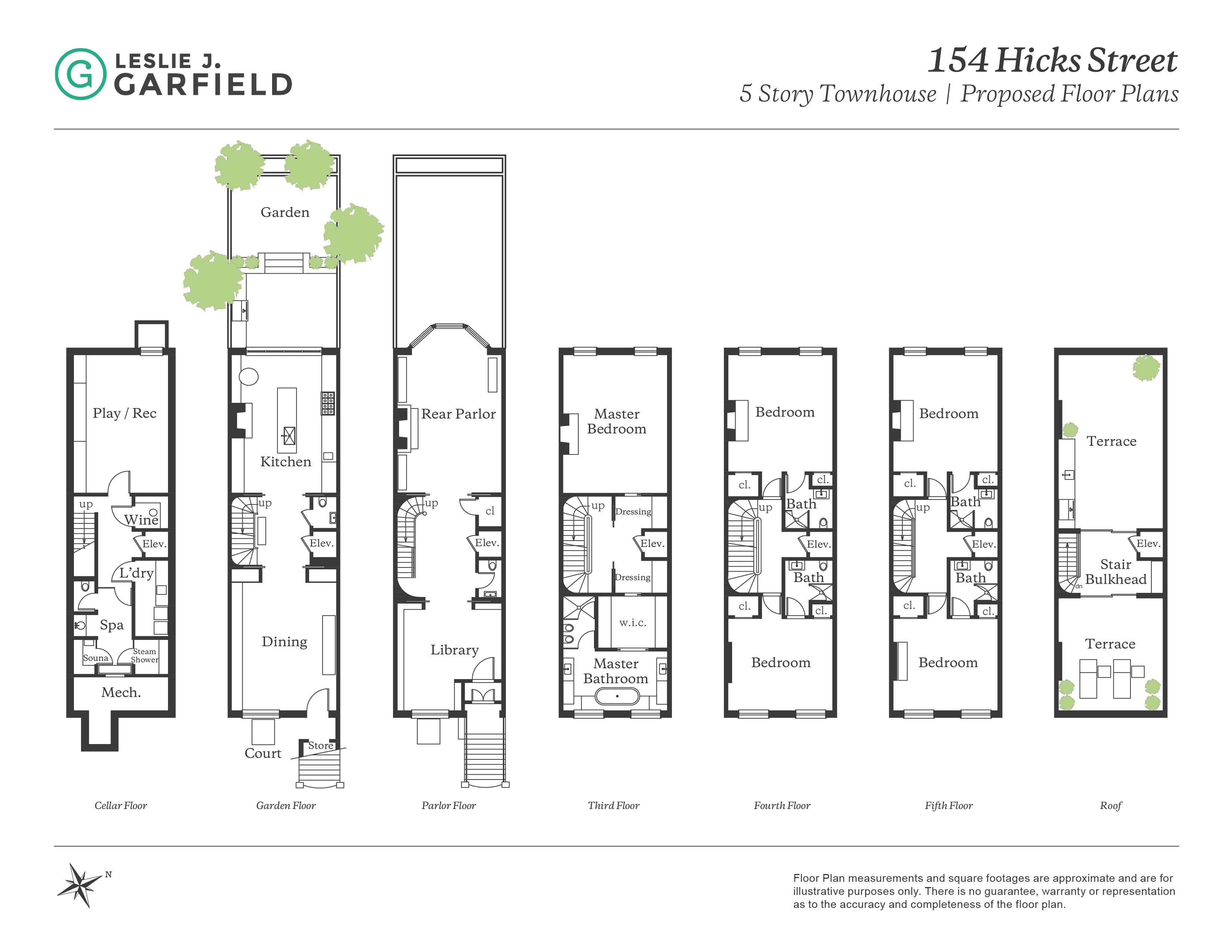 New york city brownstone floor plans for 1 story townhouse plans