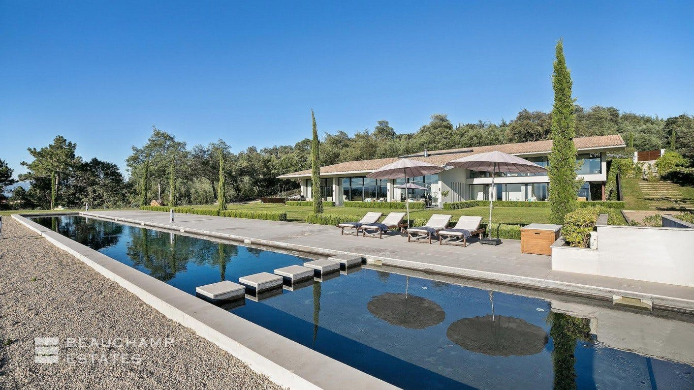 Villa For Sale in Tanneron (Near Cannes) -  - New York City Townhouse Real Estate