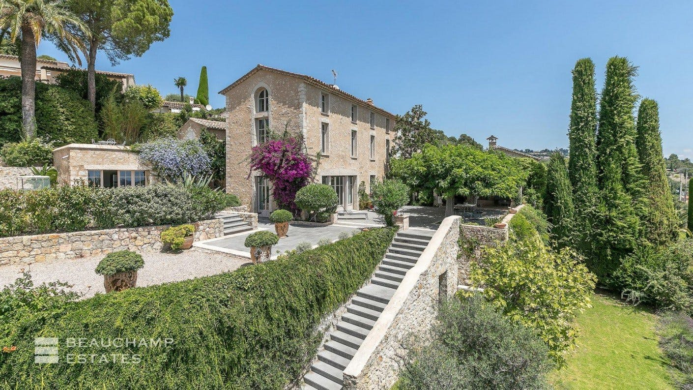 Beautiful 5 Bedroom Farmhouse For Sale in Mougins -  - New York City Townhouse Real Estate