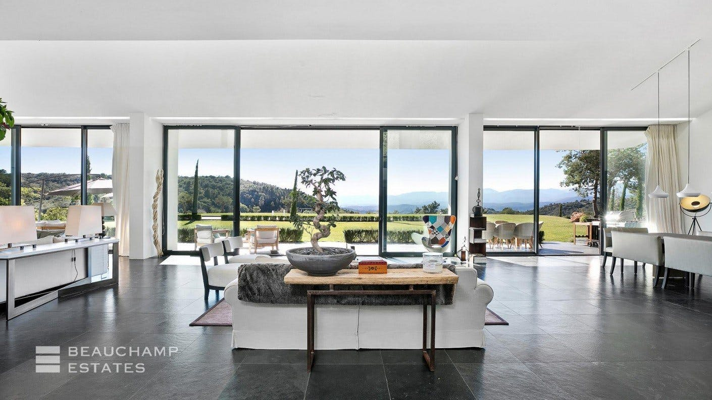 Splendid 6 Bedroom Villa For Sale in Tanneron (Near Cannes) -  - New York City Townhouse Real Estate