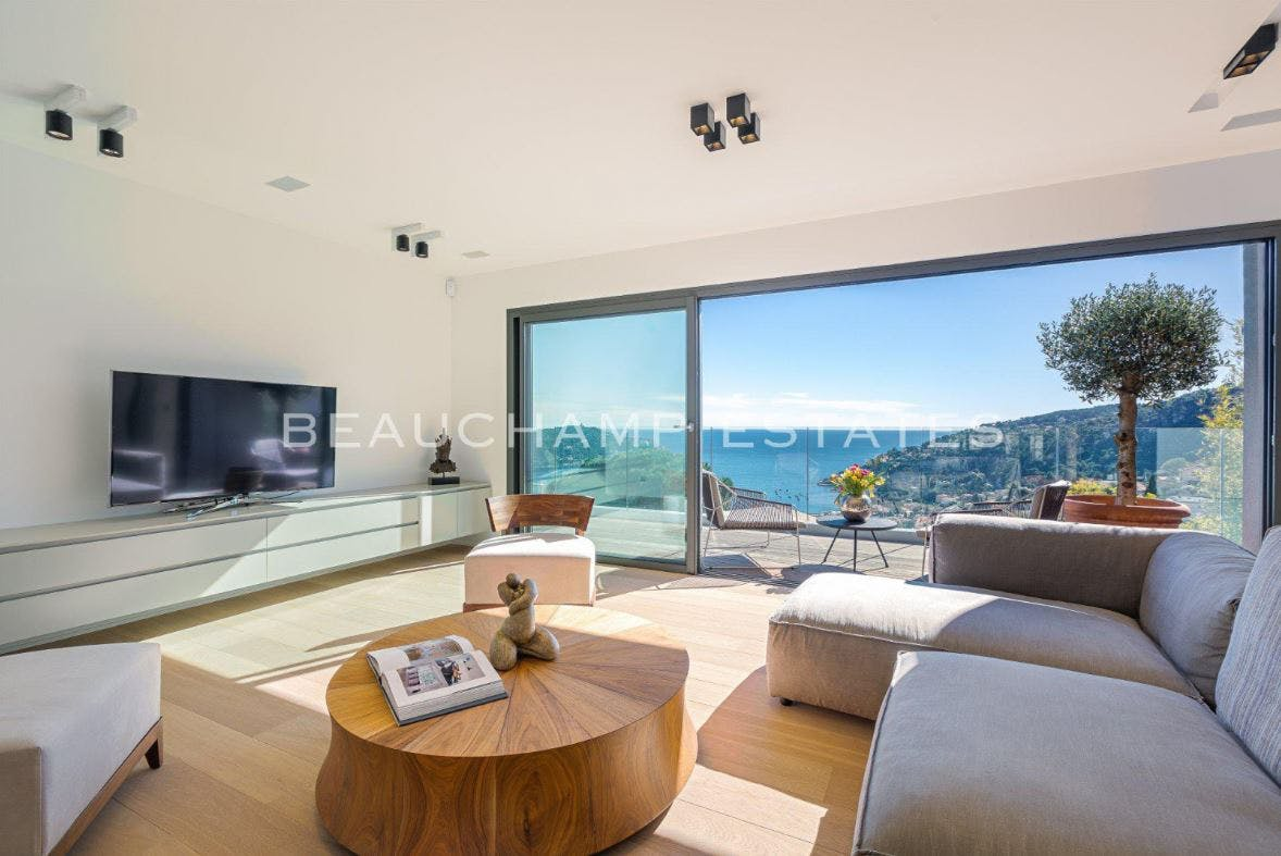 Beautiful contemporary villa with sea view -  - New York City Townhouse Real Estate
