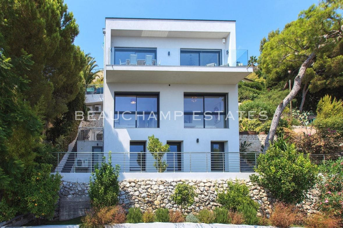 Beautiful modern villa with sea panorama -  - New York City Townhouse Real Estate