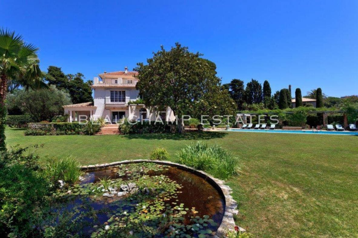 Cap d'Antibes - Villa -  - New York City Townhouse Real Estate