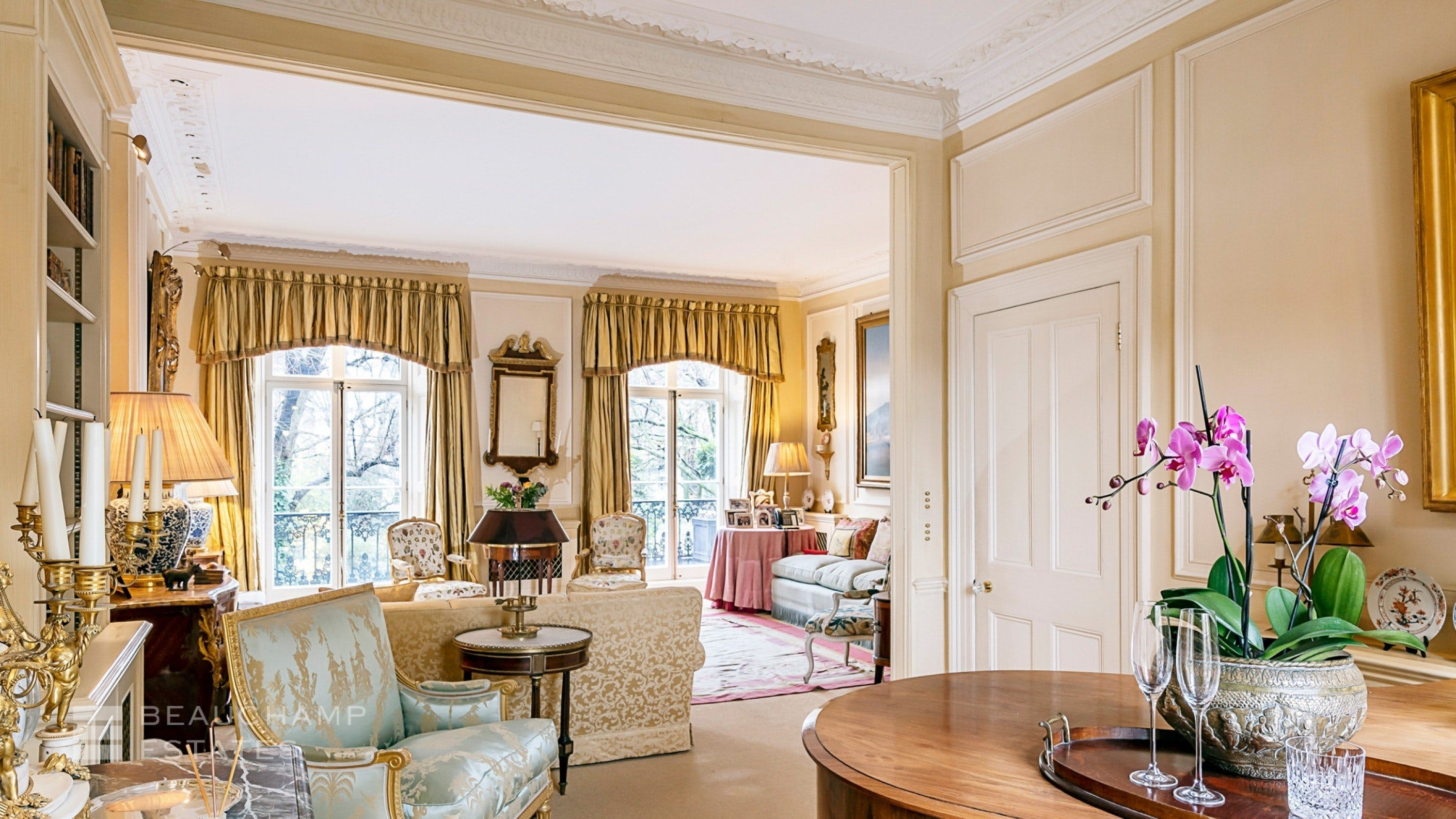 Thurloe Square, SW7 -  - New York City Townhouse Real Estate