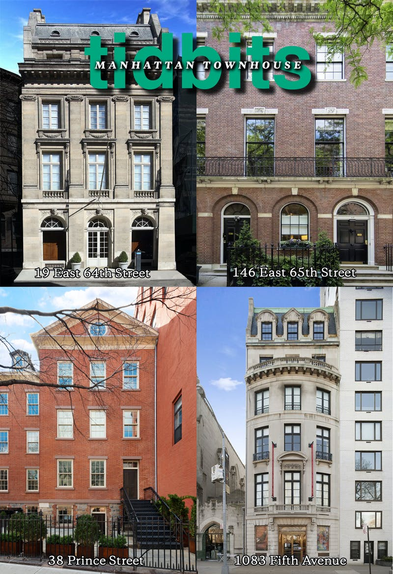 Manhattan Townhouse Tidbits